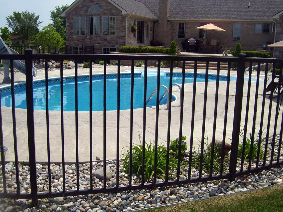 pool fence sample - Pool Fence Installation