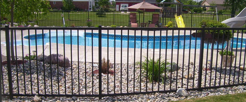 Ornamental fencing is durable and beautiful.